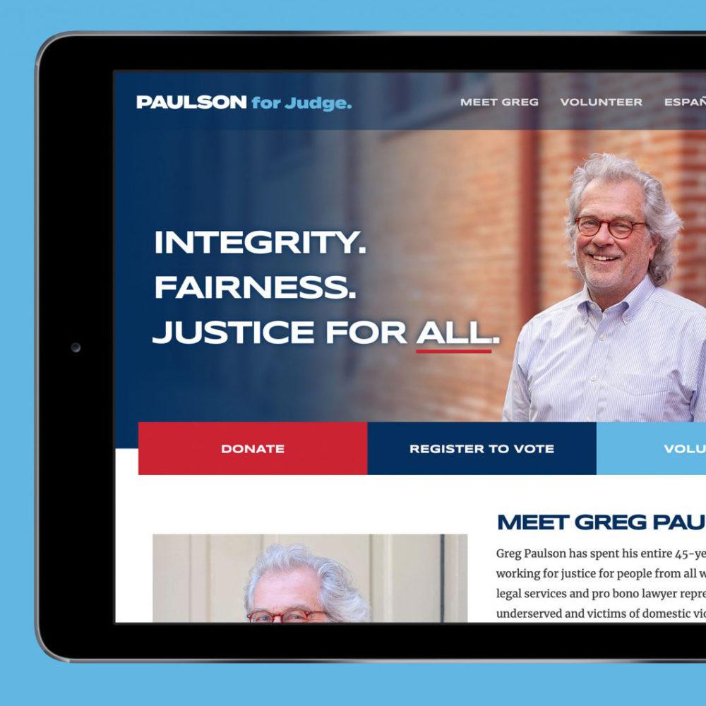 Paulson for Judge